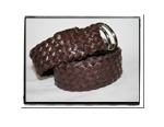 Childrens Belt - Charlie-Childrens Boys Girls Plaited Leather Belt