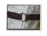 Childrens Belt - Riley-Boys Girls Kids Plaited Leather Belt