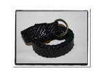 Childrens Belt - Jamie-Childrens Belt Black Boys Girls Bush Babes