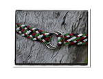 Girls Belt - Bec-Bush Babes Girls Childrens Plaited Leather Belt