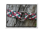 Girls Belt - Charlotte-Bush Babes Girls Childrens Plaited Leather Belt