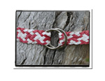 Girls Belt - Ella-Girls Childrens Plaited Leather Belt Bush Babes