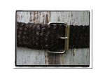 Ladies Belt - Bonny-Bush Babes Ladies Plaited Leather Belt