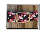 Girls Belt - Jill-Bush Babes Girls Childrens Plaited Leather Belt